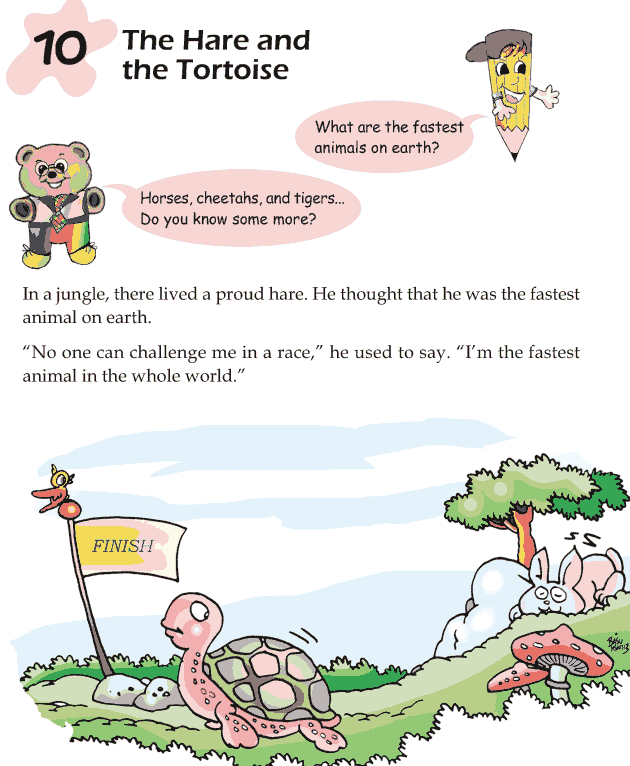 Grade 1 Reading Lesson 10 Fables And Folktales - The Hare And The Tortoise