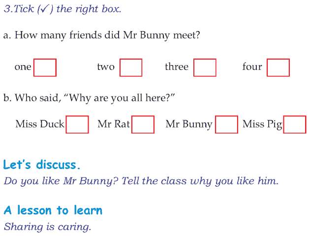 Grade 1 Reading Lesson 13 Fables And Folktales - Mr Bunnys Carrot Soup (4)
