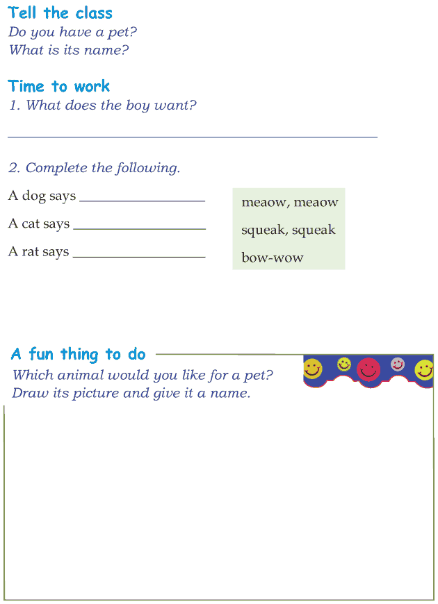 Grade 1 Reading Lesson 2 Poetry - I Want A Dog (1)