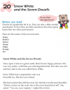 Grade 1 Reading Lesson 20 Fairy Tales - Snow White And The Seven Dwarfs