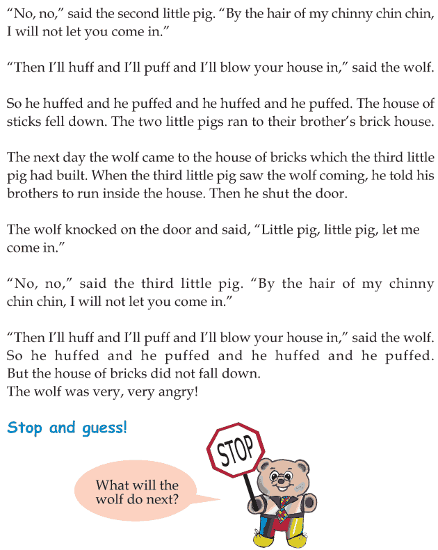 Grade 1 Reading Lesson 21 Fairy Tales - The Three Little Pigs (4)