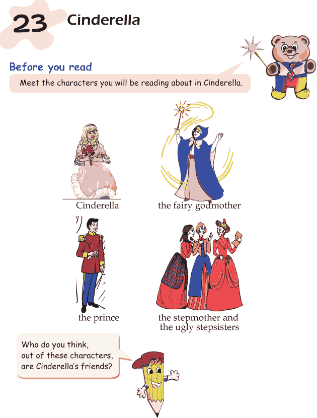 Grade 1 Reading Lesson 23 Fairy Tales - Cinderella