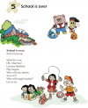 Grade 1 Reading Lesson 5 Poetry - School Is Over