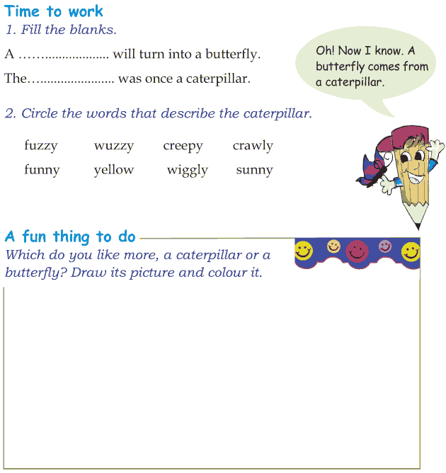 Grade 1 Reading Lesson 7 Poetry - Fuzzy Wuzzy  Creepy Crawly (1)