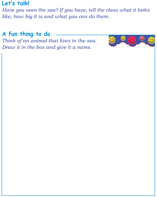 Grade 1 Reading Lesson 8 Picture Story - In The Sea (5)