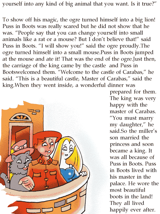 Grade 2 Reading Lesson 10 Fairy Tales - Puss In Boots (3)