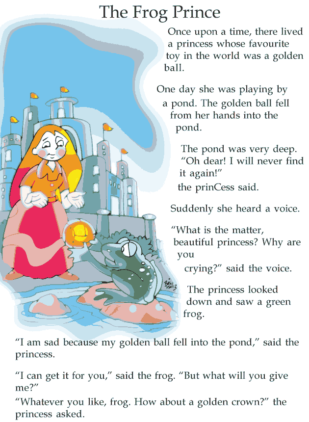 Grade 2 Reading Lesson 12 Fairy Tales - Frog Prince (1)