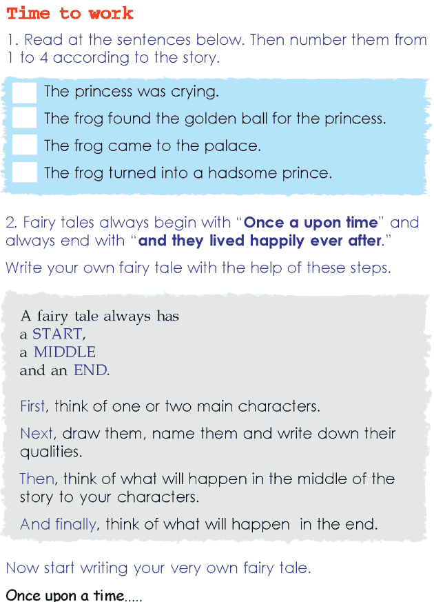 Grade 2 Reading Lesson 12 Fairy Tales - Frog Prince (4)