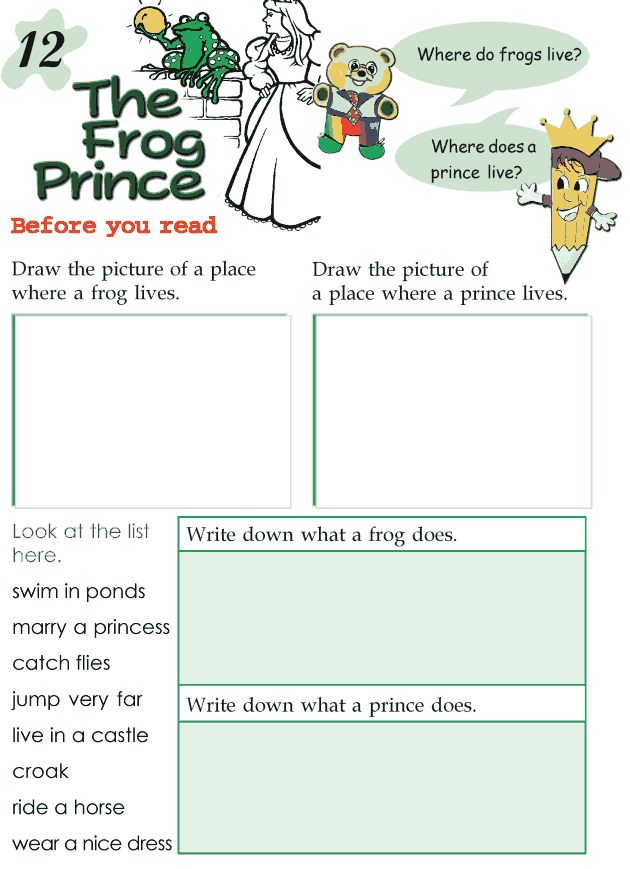 Grade 2 Reading Lesson 12 Fairy Tales - Frog Prince