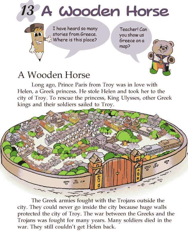 Grade 2 Reading Lesson 13 Myths And Legends - A Wooden Horse
