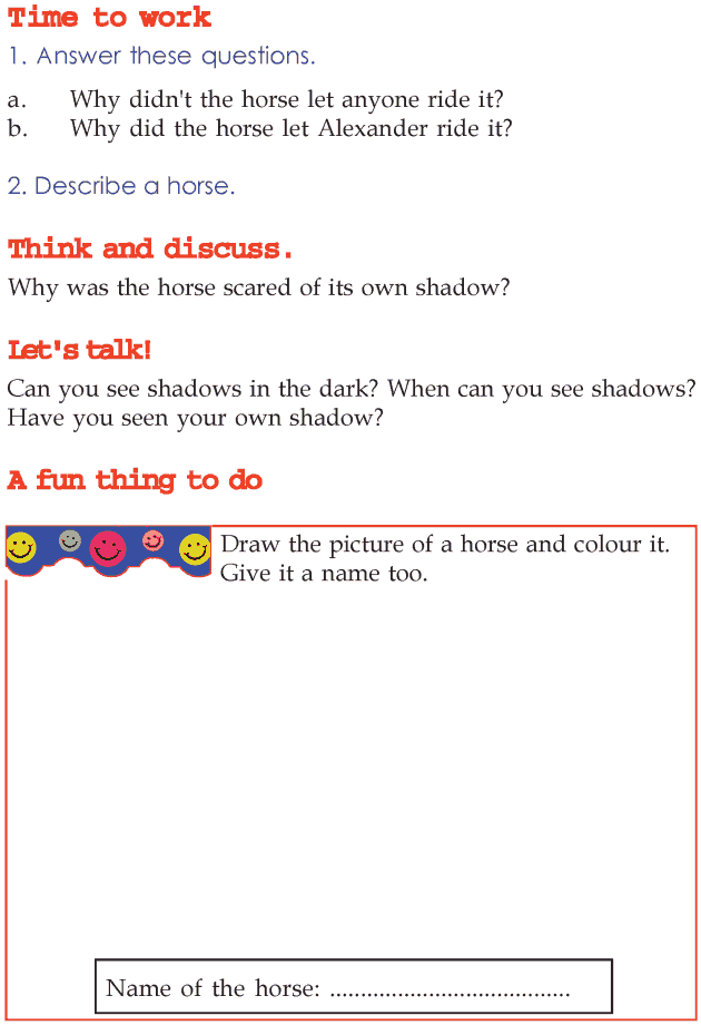 Grade 2 Reading Lesson 14 Myths And Legends - The Horse And The Prince (2)