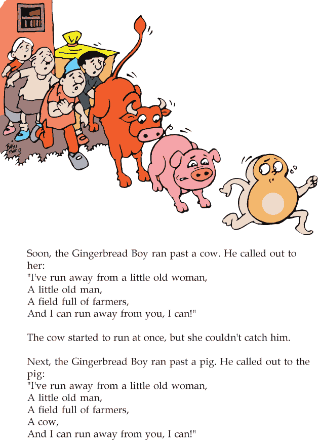 Grade 2 Reading Lesson 15 Fables And Folktales - The Gingerbread Boy (1)