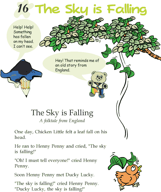 Grade 2 Reading Lesson 16 Fables And Folktales - The Sky Is Falling