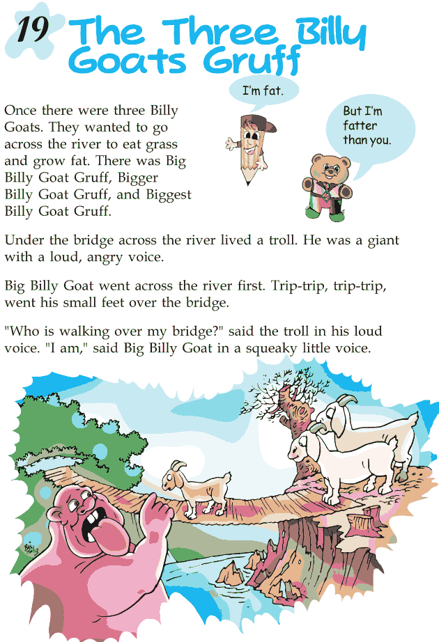 Grade 2 Reading Lesson 19 Fables And Folktales - The Three Billy Goats Gruff