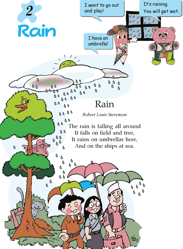 Grade 2 Reading Lesson 2 Poetry - Rain