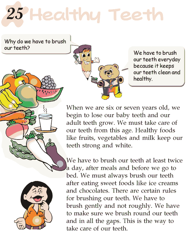 Grade 2 Reading Lesson 25 Nonfiction – Healthy Teeth | Reading ...