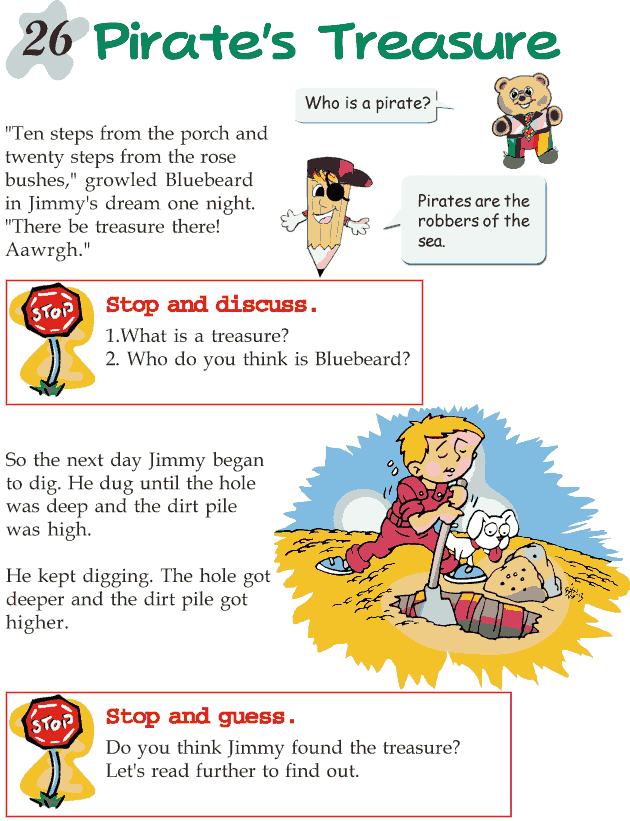 Grade 2 Reading Lesson 26 Mystery - Pirate's Treasure