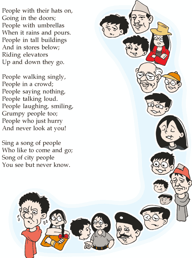 Grade 2 Reading Lesson 3 Poetry - Sing A Song Of People (1)