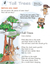Grade 2 Reading Lesson 4 Poetry - Tall Trees