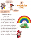 Grade 2 Reading Lesson 6 Poetry - I Wonder Why