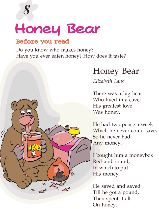 Grade 2 Reading Lesson 8 Poetry - Honey Bear