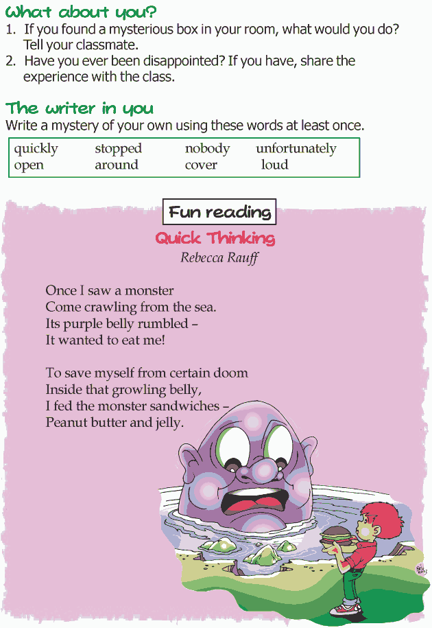 Grade 3 Reading Lesson 1 Mystery - Whats Inside The Box (4)