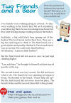 Grade 3 Reading Lesson 11 Fables And Folktales - Two Friends And A Bear
