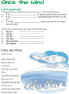 Grade 3 Reading Lesson 16 Poetry - Once The Wind