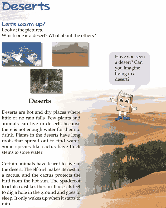 Grade 3 Reading Lesson 21 Nonfiction - Deserts