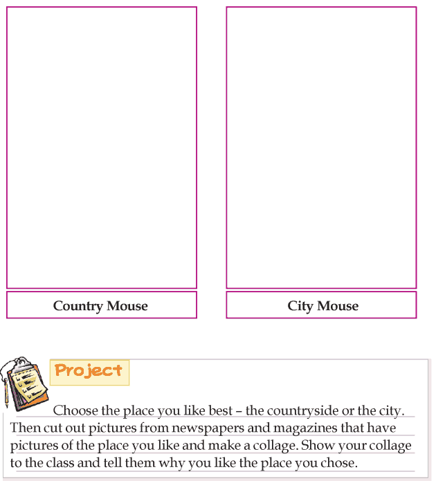 Grade 3 Reading Lesson 4 Short Stories - The City Mouse And The Country Mouse (5)