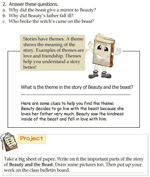 Grade 3 Reading Lesson 5 Fairy Tales - Beauty And The Beast (4)