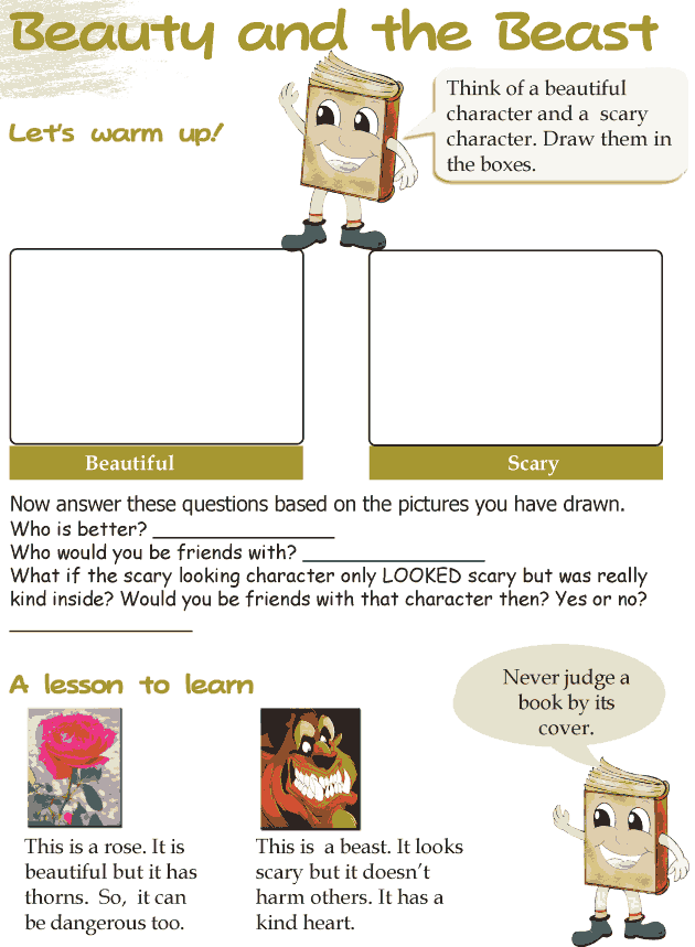 Grade 3 Reading Lesson 5 Fairy Tales - Beauty And The Beast