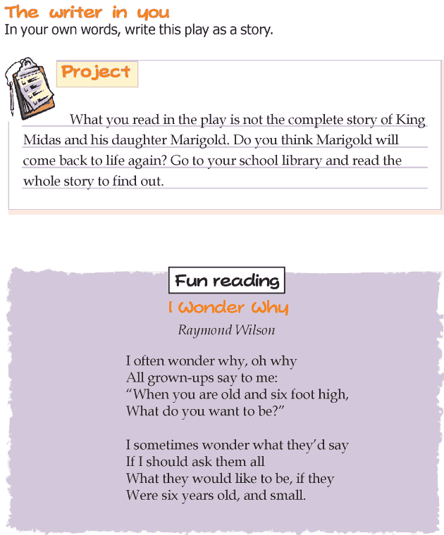 Grade 3 Reading Lesson 8 Drama - The Golden Touch (4)