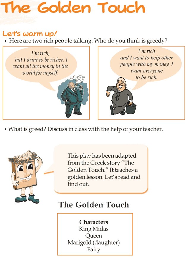 Grade 3 Reading Lesson 8 Drama - The Golden Touch