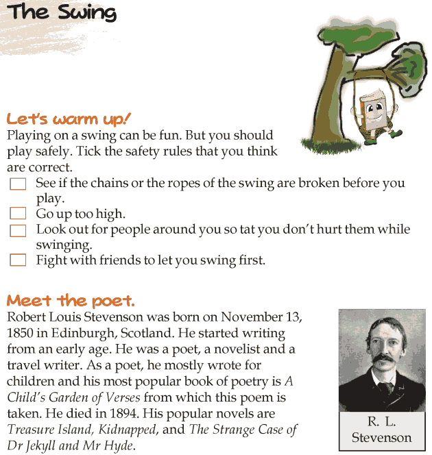 Grade 4 Reading Lesson 10 Poetry - The Swing