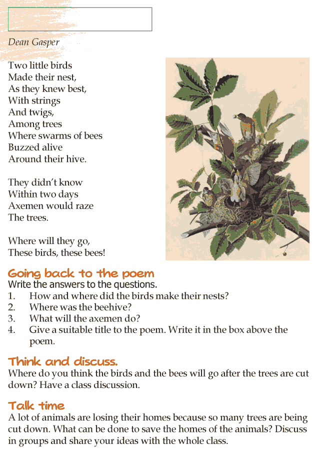 Grade 4 Reading Lesson 11 Poetry - Untitled Poem