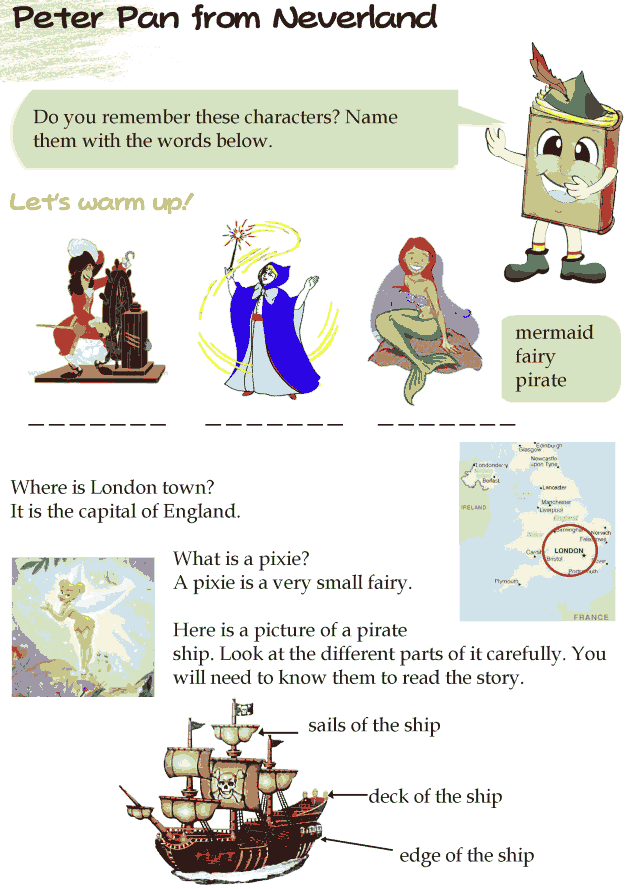 Grade-4-Reading-Lesson-19-Fairy-Tales-Peter-Pan-From-Neverland