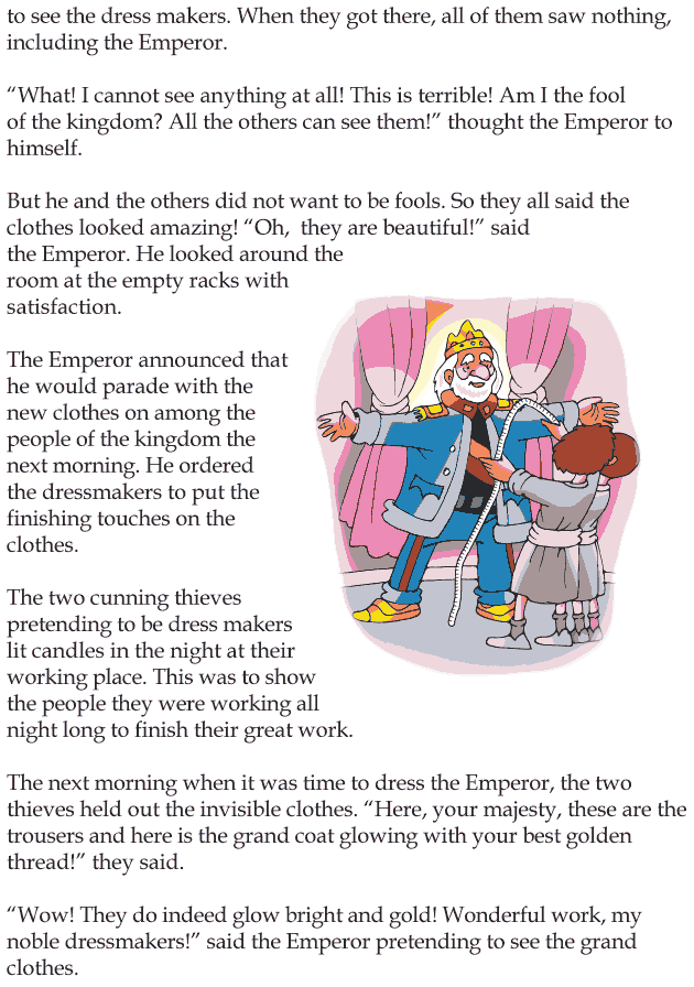 Grade 4 Reading Lesson 20 Fairy Tales - The Emperors New Clothes (2)
