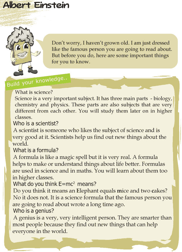 Grade 4 Reading Lesson 23 Biographies - Albert Einstein
