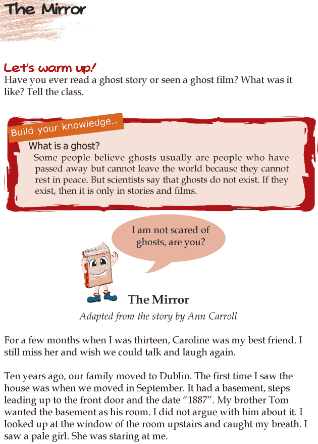 Grade 4 Reading Lesson 25 Horror - The Mirror