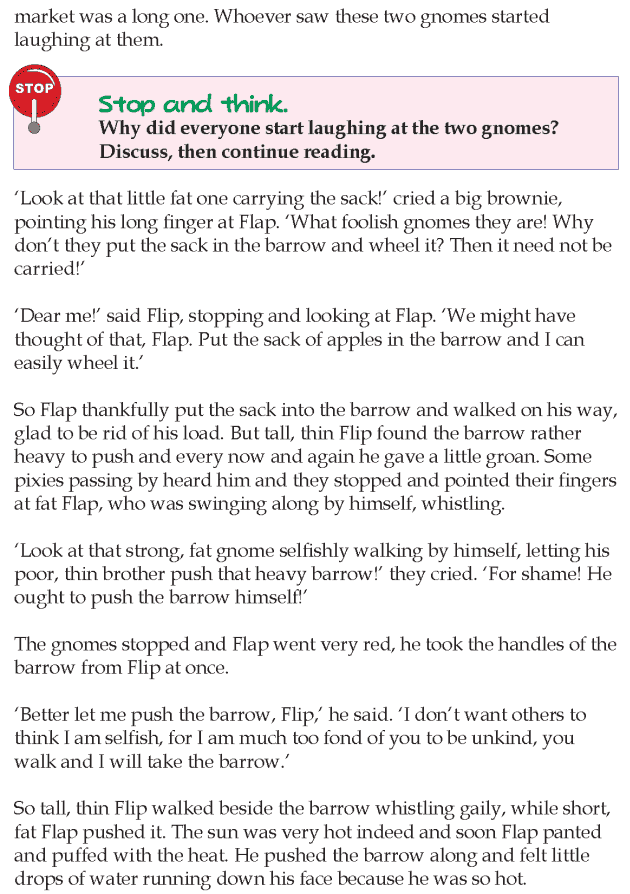 Grade 4 Reading Lesson 6 Short Stories - You Cant Please Everybody (1)