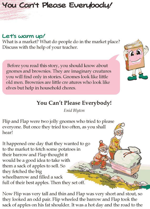 Grade 4 Reading Lesson 6 Short Stories - You Can't Please Everybody