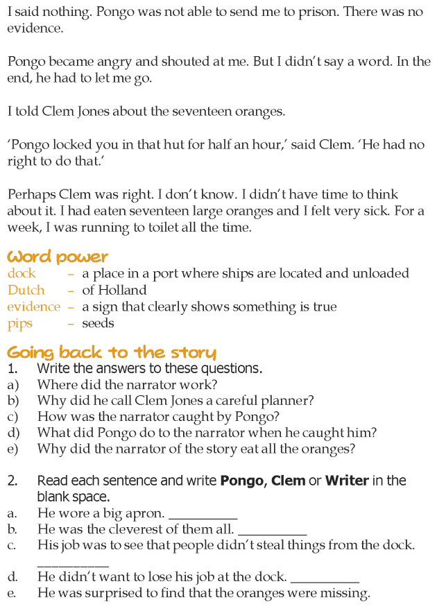 Grade 5 Reading Lesson 1 Humor - The Seventeen Oranges (5)