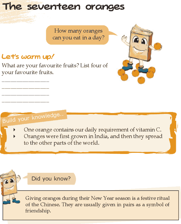 Grade 5 Reading Lesson 1 Humor - The Seventeen Oranges