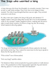 Grade 5 Reading Lesson 10 Fables And Folktales - The Frogs Who Wanted A King