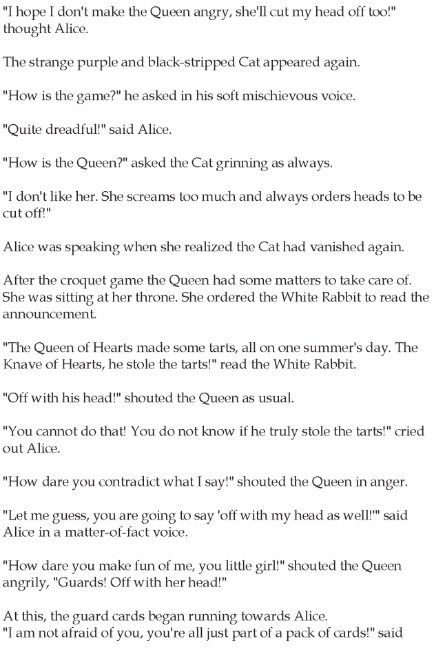Grade 5 Reading Lesson 13 Fantasy - Alice In Wonderland (6)