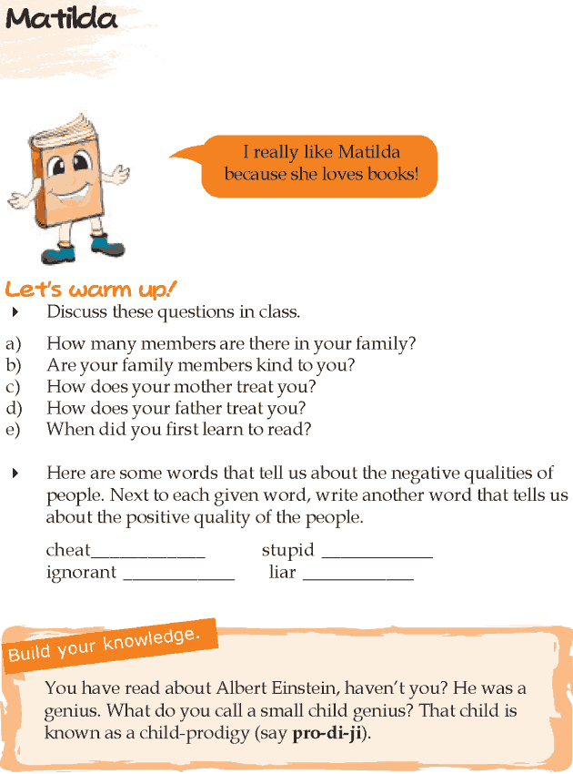 Grade 5 Reading Lesson 16 Play - Matilda