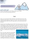 Grade 5 Reading Lesson 20 Nonfiction - Yeti
