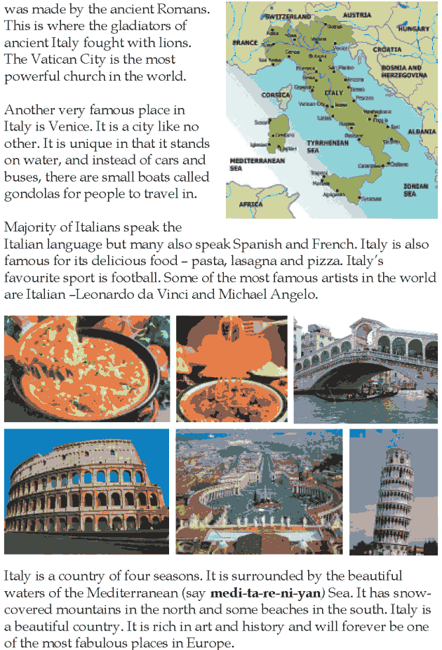 Grade 5 Reading Lesson 22 Nonfiction - Italy (1)