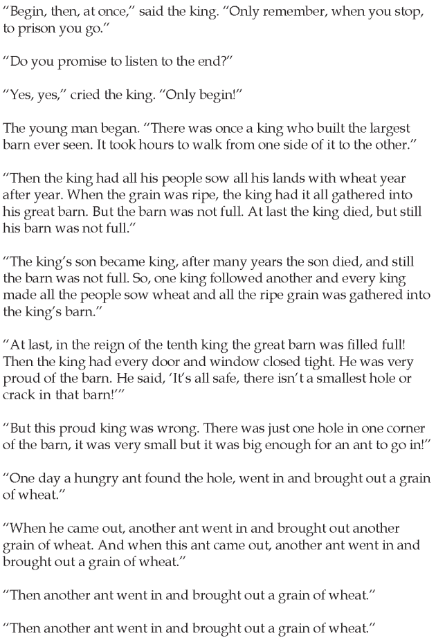 Grade 5 Reading Lesson 23 Short Stories - The Story Without An End (1)